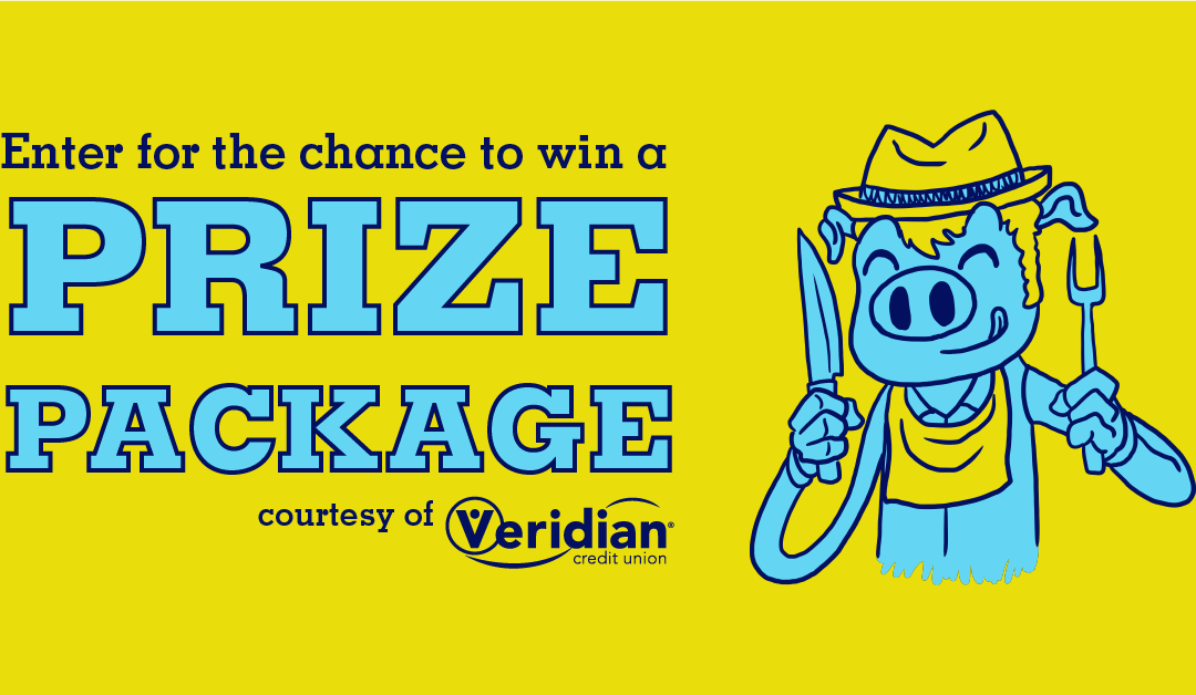 Win a VIP package, courtesy of Veridian Credit Union
